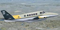 Screenshot of Wagair Beech 99 in flight.