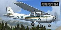 Screenshot of Waiheke Air Cessna C172 in the air.