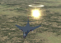 Screenshot of the Alphasim B1B Lancer's payload.