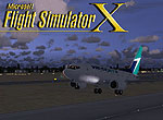 Splash Screen showing West Jet 737-600 taking off.