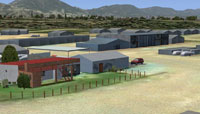 Screenshot of Worcester Airfield, South Africa.