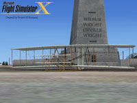 Splash Screen showing the Wright Brothers' Model B.