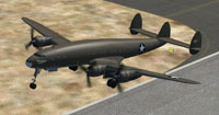 Screenshot of XC-69 Constellation Prototype taking off.
