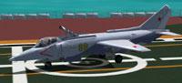 Screenshot of Yakovlev Yak-38 on the ground.