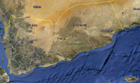 Overview of Yemen Airfields.
