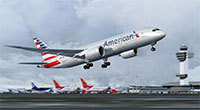 American Airlines 787 in FSX