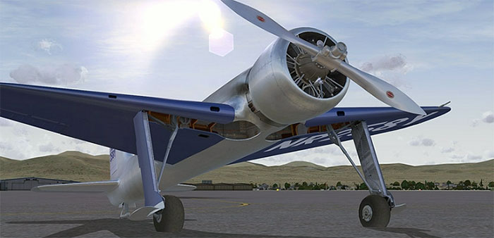 Screenshot of the Aerosoft Hughes