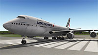 Air France Boeing 747 on runway