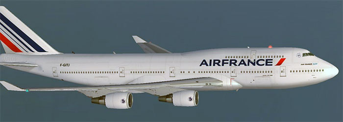 Air France passenger aircraft
