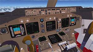 Virtual cockpit 3D