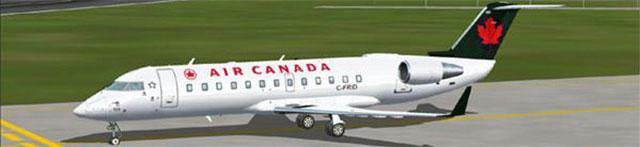 Air Canada CRJ-200 in FSX