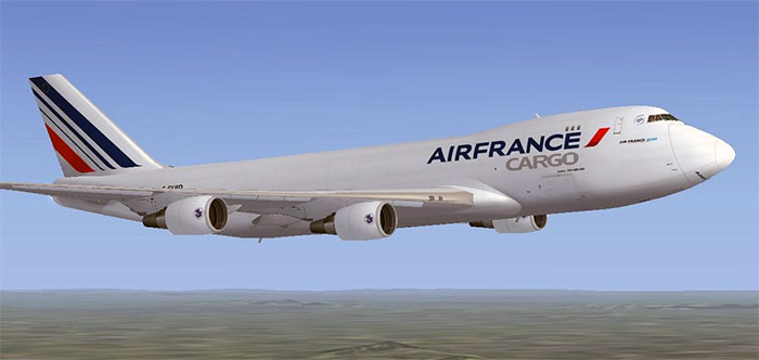Air France Cargo aircraft