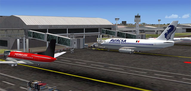 Aerosoft And FlyMex Releases Addon For Airports Of Mexico City - Airports in mexico