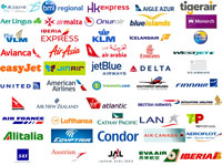 Selection of some of the AI airline logos