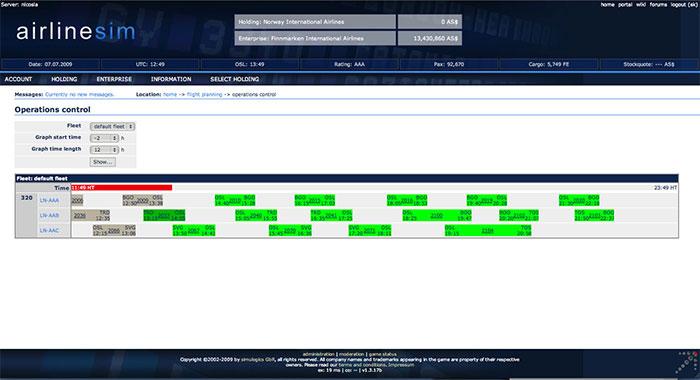 Airlinesim screenshot