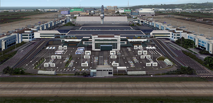 Airport car park