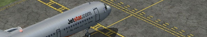 Upgraded taxiway