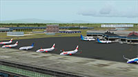 Soekarno-Hatta International in FSX.