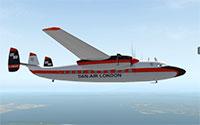 Airspeed Ambassador in flight.