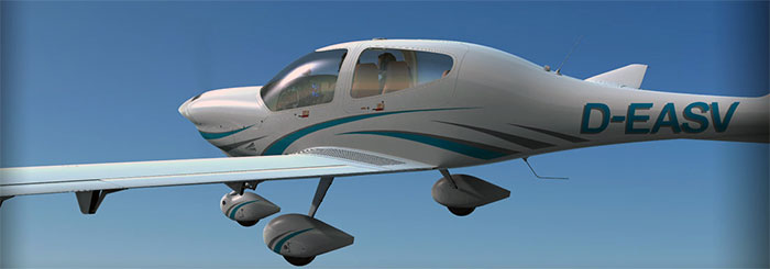 Alabeo's DA40 in FSX