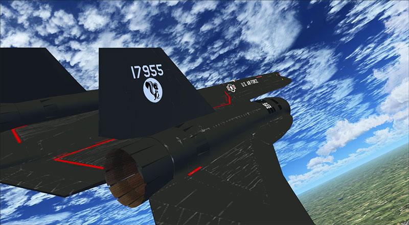 Alphasim conversion of the SR-71.