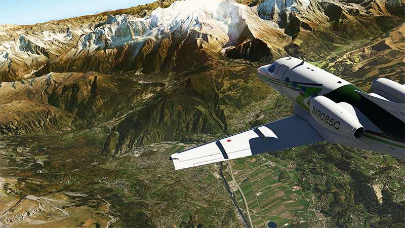 Alps scenery for XP11/XP10.