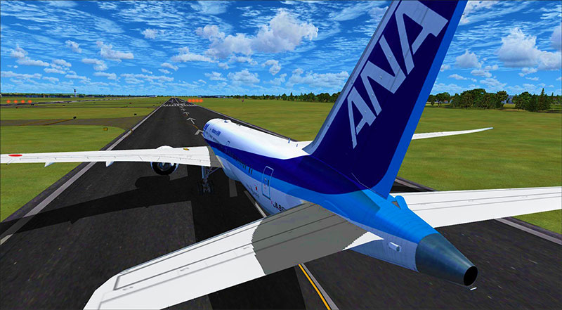 The free ANA 787 available from the Fly Away Simulation downloads library.