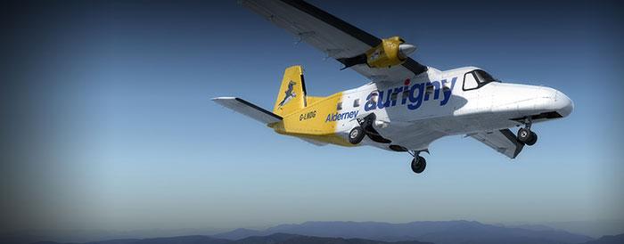 Aurigny Dornier aircraft