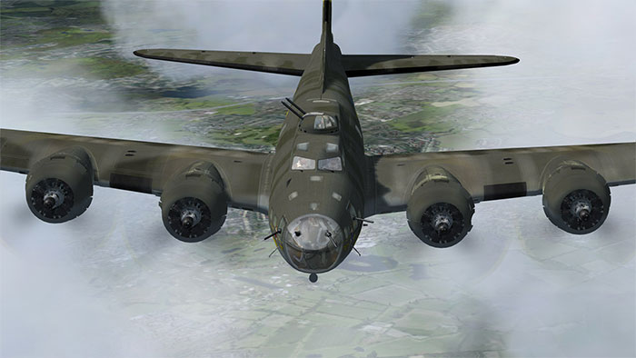 B17 Flying Fortress by Aeroplane Heaven