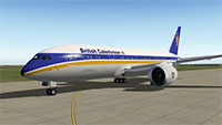 British Caledonia 787 in X-Plane 10