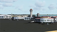 Beijing Capital Airport in FSX.