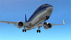 British Midlands 737 in XP11.