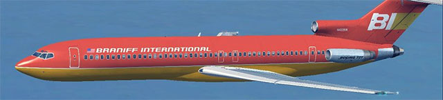 Braniff 727 in Microsoft Flight Simulator X