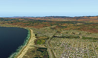 Image showing the coastline upgrade after installing in XP11.