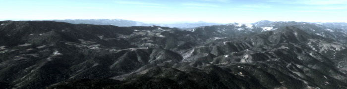 California mountains photoreal scenery