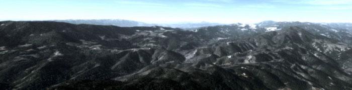 California mountains photoreal scenery
