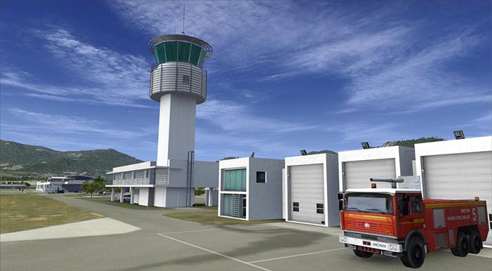 Calvi control tower
