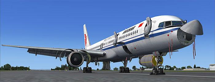Captain Sim's 757 package