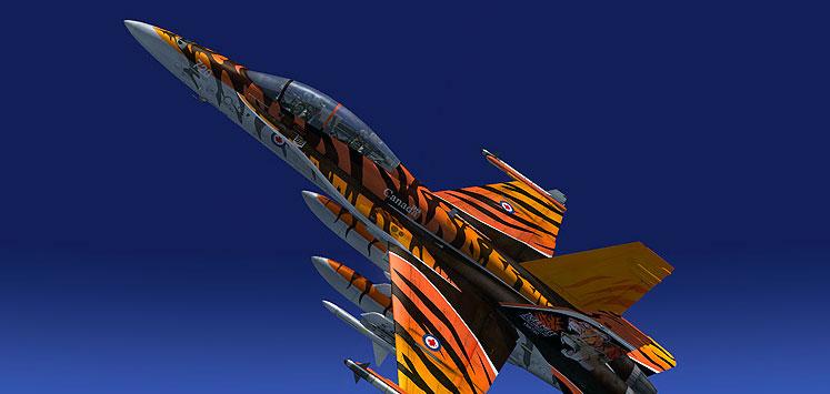 Captain Sim F/A-18D