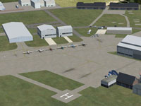 Carlisle Airport in FSX