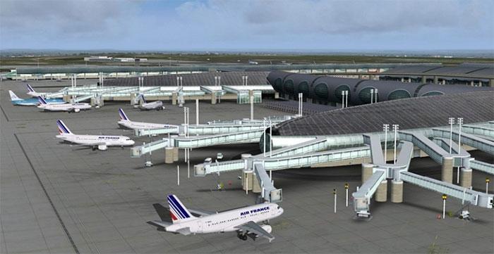 Terminal at CDG