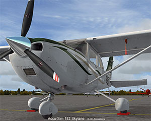 A2A's Cessna 182 Skylane showing whole aircraft