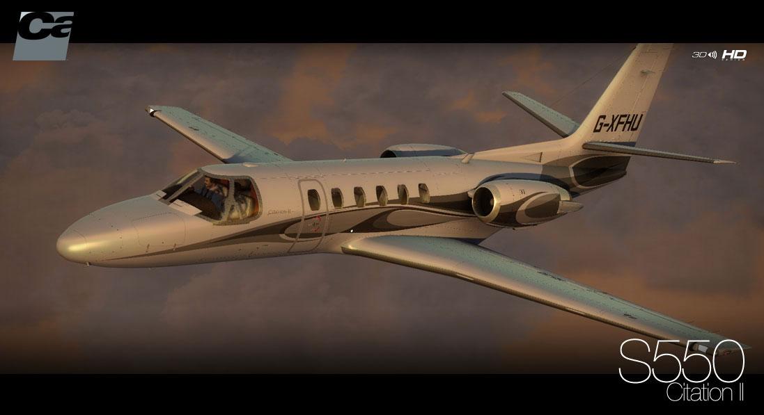 Carenado Cessna Citation Carenado's Cessna Citation ii