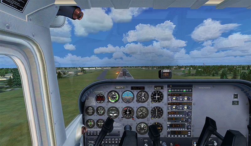 Cessna cockpit
