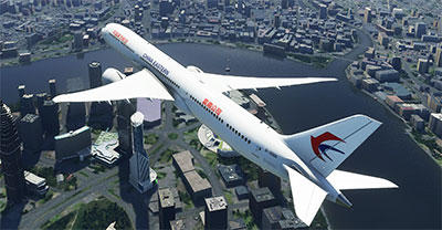 China Eastern livery on a MSFS 2020 787-10.