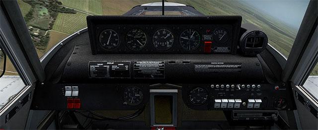 Detailed cockpit