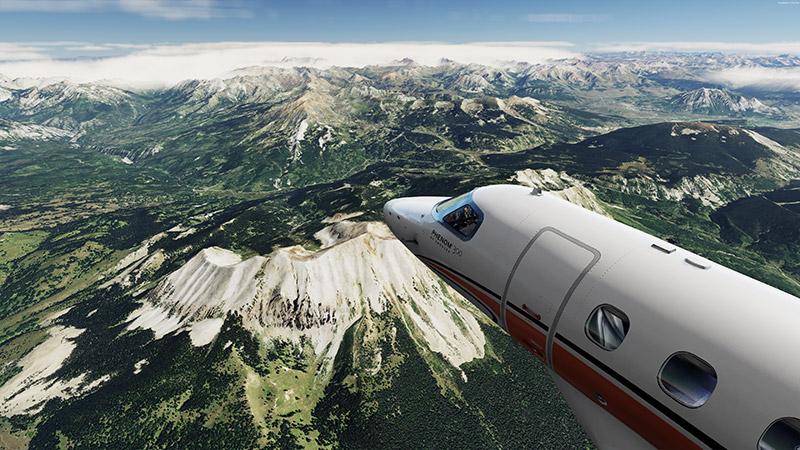 Colorado photoreal mountains