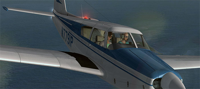 Comanche in flight