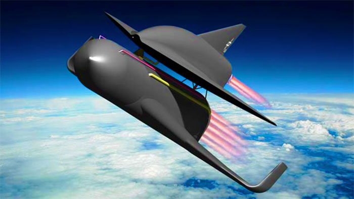 Concept space plane