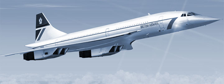 BA Concorde by Flight Sim Labs